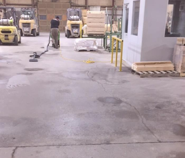 Dry warehouse concrete